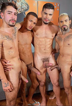 Horsehung Bareback Orgy