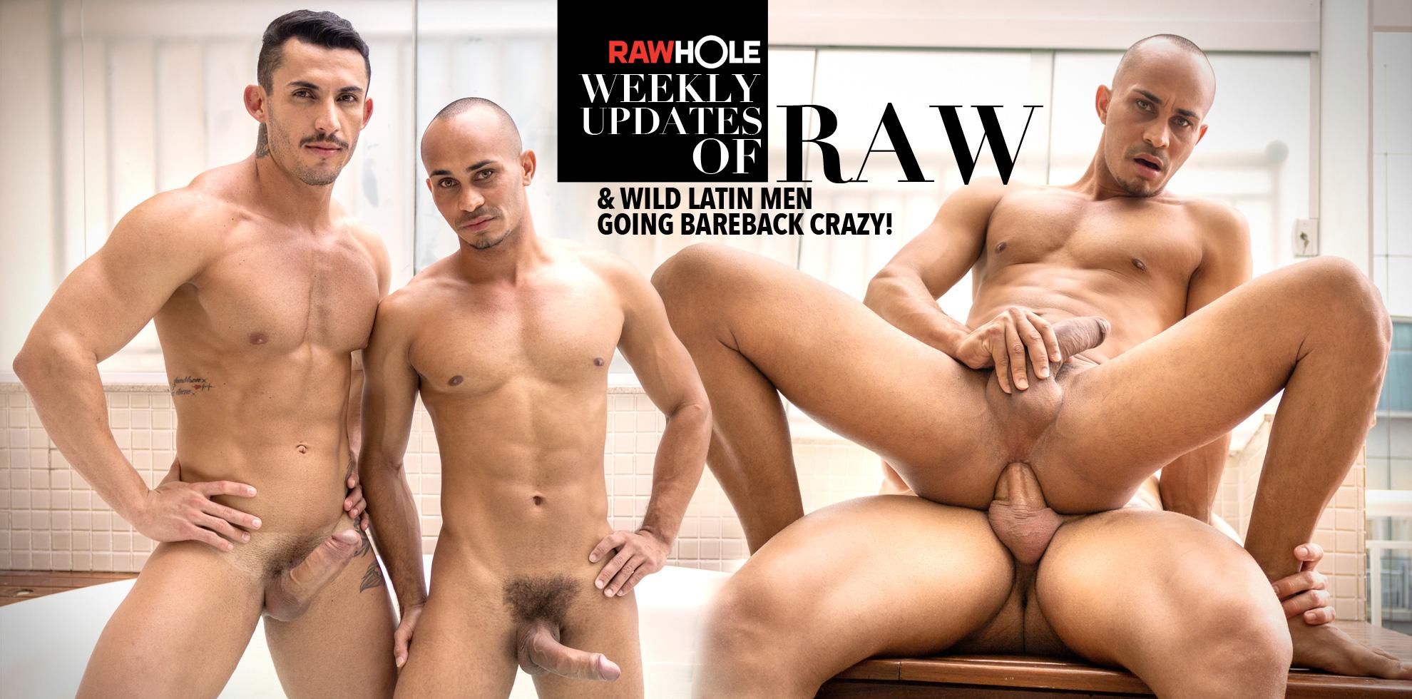 Gay Porno Image rawhole - best in gay bareback latino men porn from brazil